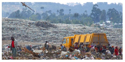 New Vehicles and a New Waste Disposal Practice to Addis