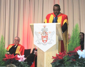 Bradford Confers Honorary Doctorate on Ethiopia's Deputy PM