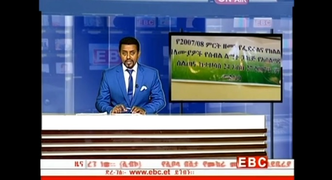 The Latest Amharic News From EBC Jan 08, 2014