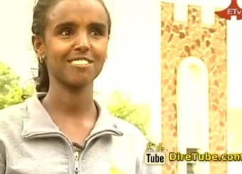 Outstanding Student from Gondar University-Abeba Yebrahe