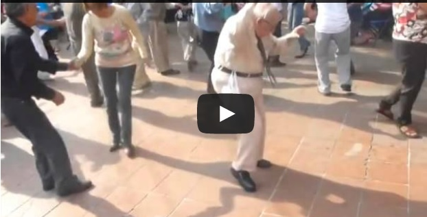 Old Man Surprised Everyone - Never Stop Dancing