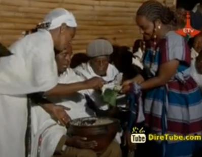 Meskel Celebration in Southern Ethiopia - Durma