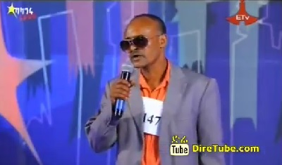 Workeneh Alelegn Vocal Contestant, Addis Ababa [Funny Man]