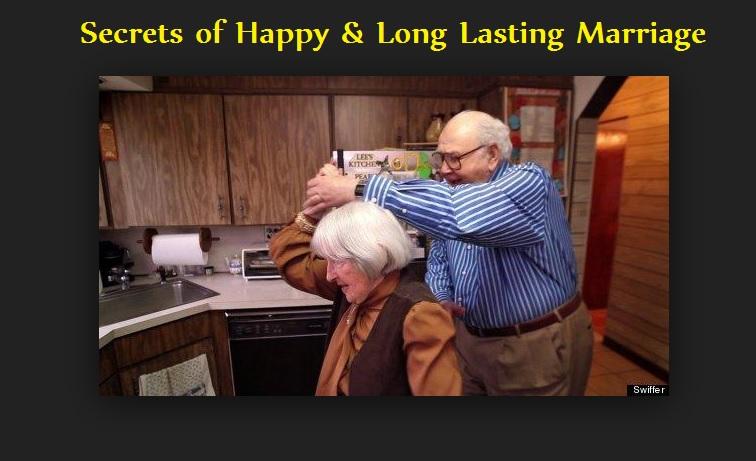 Secrets of Happy & Long Lasting Marriage