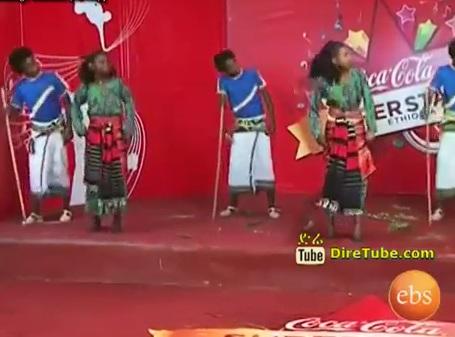 Beza Traditional Dance Crew - Coca Cola Super Stars Round 1 Episode 11