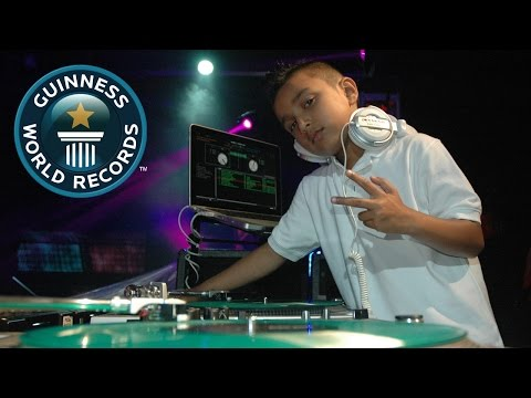 Guinness World Records - Six-year-old - Youngest Club DJ