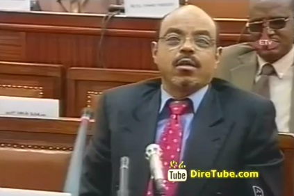 ETV Sunday - Funny Jokes & Moments of Meles Zenawi at the Parliament