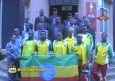 Ethiopian Sport - Federal Police Sport Club Athletes farewell program