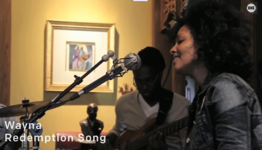 Wayna Wondwossen - Cover Bob Marley's Redemption Song (Acoustic Cover)