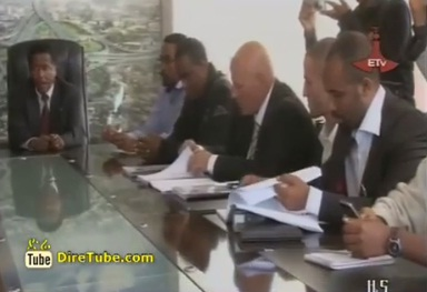 Ethiopian News - Addis Ababa Road Authority sign 323MLN birr road project