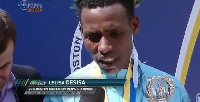 Lelisa Desisa 2013