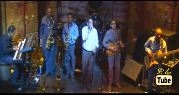 DireTube Video - Dawit Melese - Yiberral Libe - [Live Performance with Showcase Band]