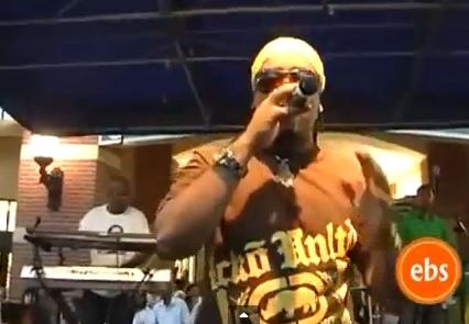 Tadele Roba - Performing 'Waka waka' @ SilverSpring
