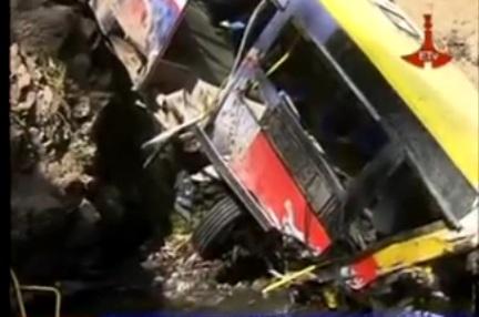 Ethiopian News - Horrific Traffic Accident in Addis Kills Eight Wounding forty Six