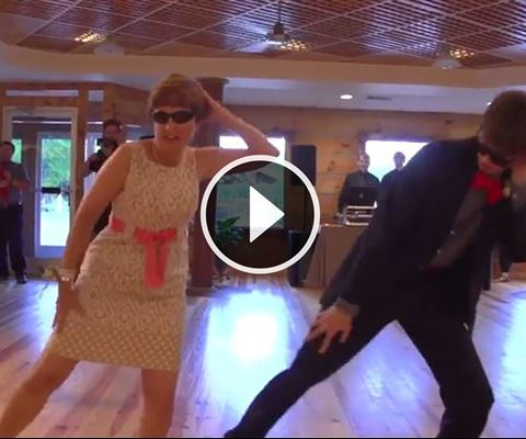 Amazing Video - Mother and Son Perform Epic Wedding Dance