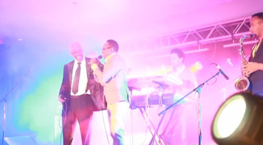 Mahmoud Ahmed - Tizita (ትዝታ) Mahmoud Ahmed & Bizuayehu Demisse, Concert in Calgary