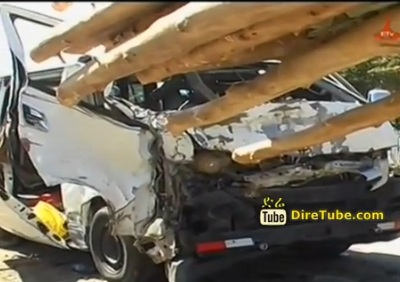Police News - Holeta : 10 People Critically Injured & 3 People died in Horrific Traffic Accident
