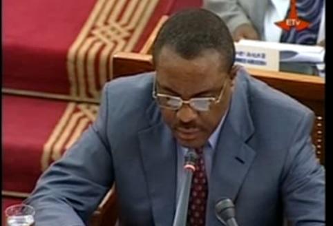 Parliament - PM Hailemariam Desalegn's 9 month Report to the Parliament