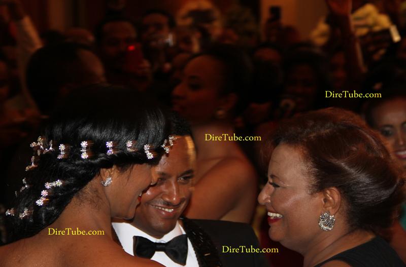 DireTube Exclusive - Gosaye Sings at Teddy Afro Wedding - Hilton Hotel