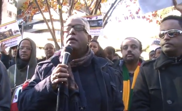Ethiopia News - Protest at Saudi Arabia embassy In Washington DC