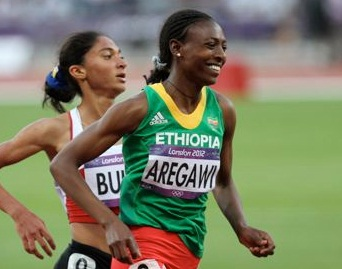 London 2012 - Interview with Abeba Aregawi, Top Qualifier for 1500M Final