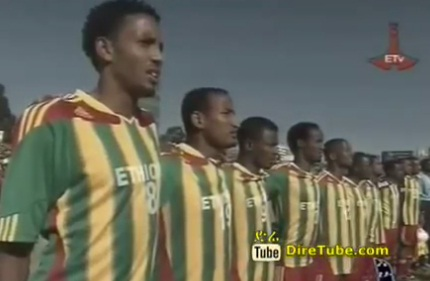 Sunday Sport - Ethiopian Team will Play infront of Thousands of Ethiopians in South Africa