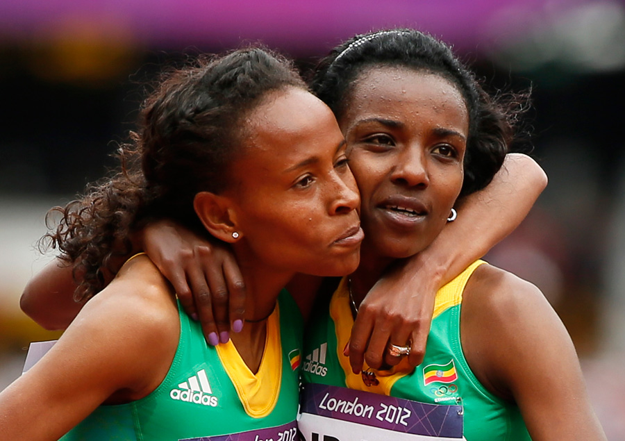 London 2012 - Tirunesh, Meseret and Gelete Qualified for 5000M Final