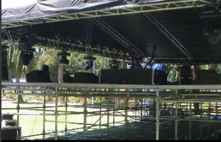 "Adika - Teddy Afro's ""Wede Fiker Concert stage Set up"