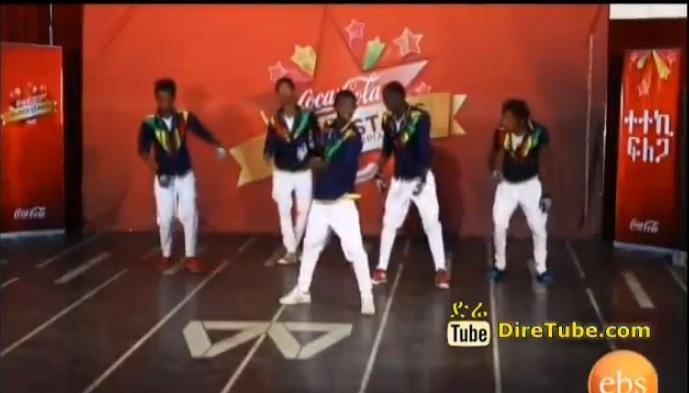 CocaCola Super Star - Top 20 - Tikur Sew Dance Contestant Crew