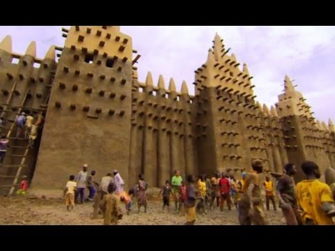 BBC Human Planet - Storm-proofing the World's Biggest Mud Building