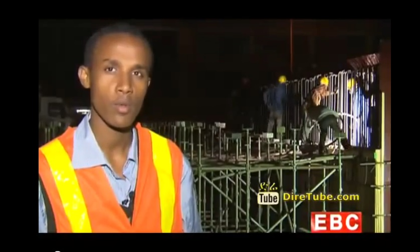 Ethiopian News - Construction of the Addis Light Railway Project has seen 82% Completion