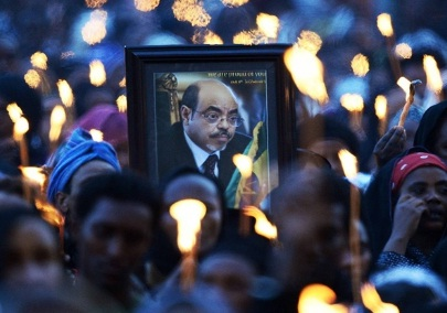 Ethiopian TV - Candlelight Vigil at Meskel Square Full Program - Part 1