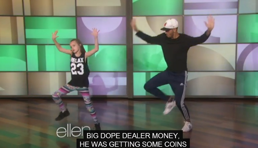 Amazing Talent - She's only 11 years old, but she can really bust a move!