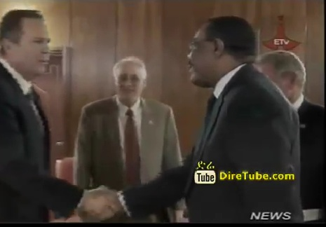 Ethiopian News - PM Hailemariam Confers With Delegation Led by US Senator