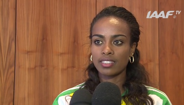 Ethiopian man falls in love with Athlete Genzebe Dibaba | Aug 18, 2016