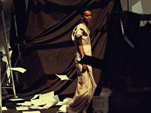 """Liya Kebede - Photo Shoot During the theatrical release of """"Desert Flower"""""""