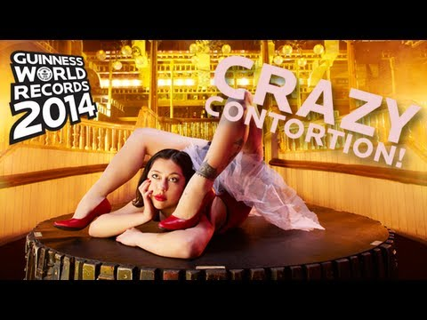 Guinness World Records 2014 - World's Fastest Back Bend Walk