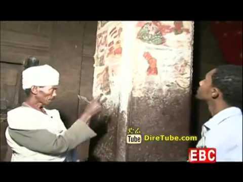 Amhara TV - An Inside Look @Rock hewn Church of Meskele Kirstos - Part 1