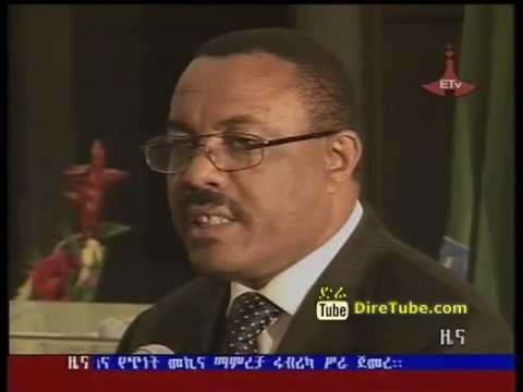 Ethiopian News - The Premier Purchase of Bond towards the Dam Showcased With Success in Washington D