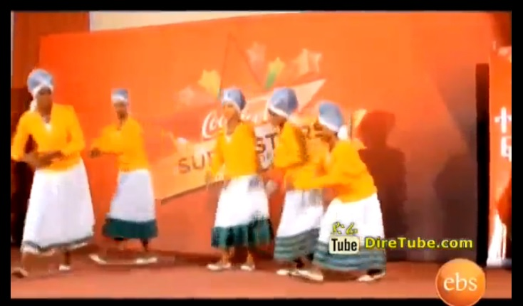 CocaCola Super Star - Shashe Renger Dance Contestant Crew
