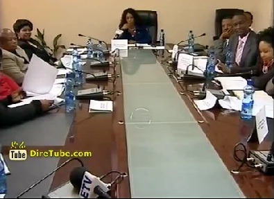 News in English - A Delegation from Gaborone city council visiting Addis Ababa