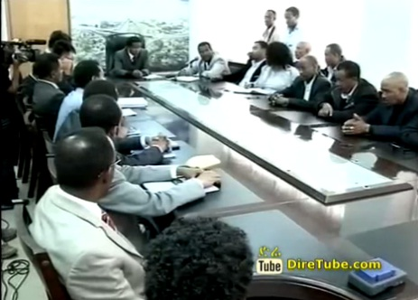 News in English - Addis Ababa City Road Authority Signed three Road construction projects agreements