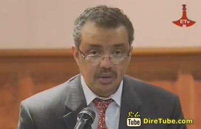 Ethiopian News - Addis ready for AU 50th anniversary, Dr. Tewodros Adhanom
