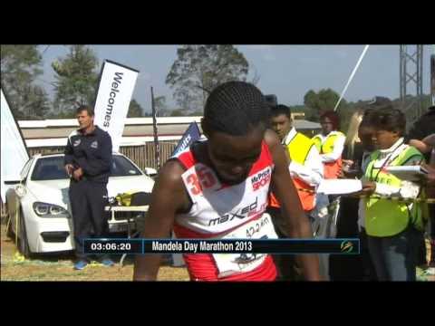 SABC - Ethiopia's Eshetu wins Mandela Day Marathon