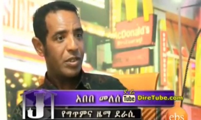 Jossy In Z House - Interview With Artist Abebe Melese Part 1
