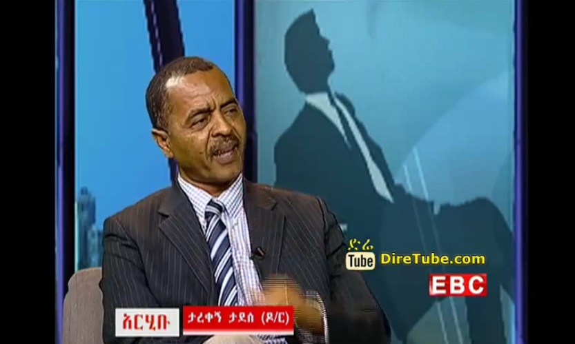 Aribu - Live Interview with Dr Tarekgn Tadesse