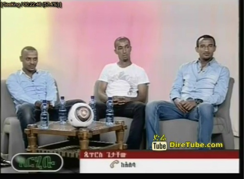 Arhibu - Interview with Degu Debebe, Adane Girma and Jemal Tasew Part 1- From National Football Team
