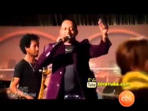 Madingo Afework - Performing on Seifu Fantahun Show