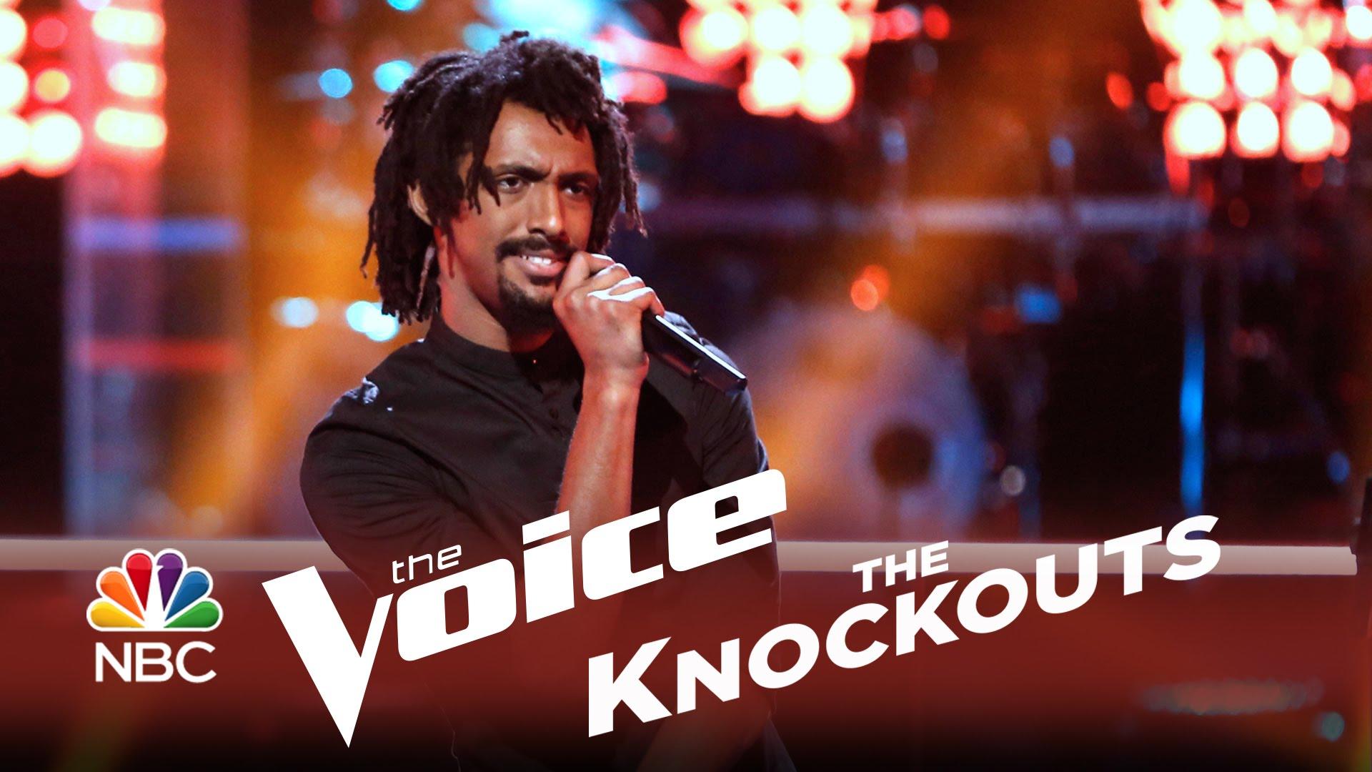 The Voice 2014 - Knockouts - Menlik Zergabachew Continues to Impress the Voice