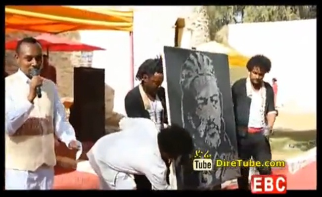 EBC Special - Amazing Art Work Reveals Tewodros II Image - MUST WATCH